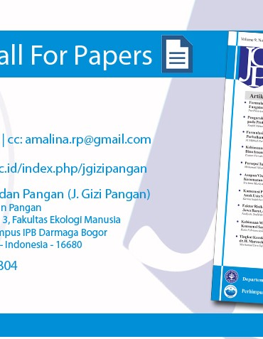 Call for Papers JGP