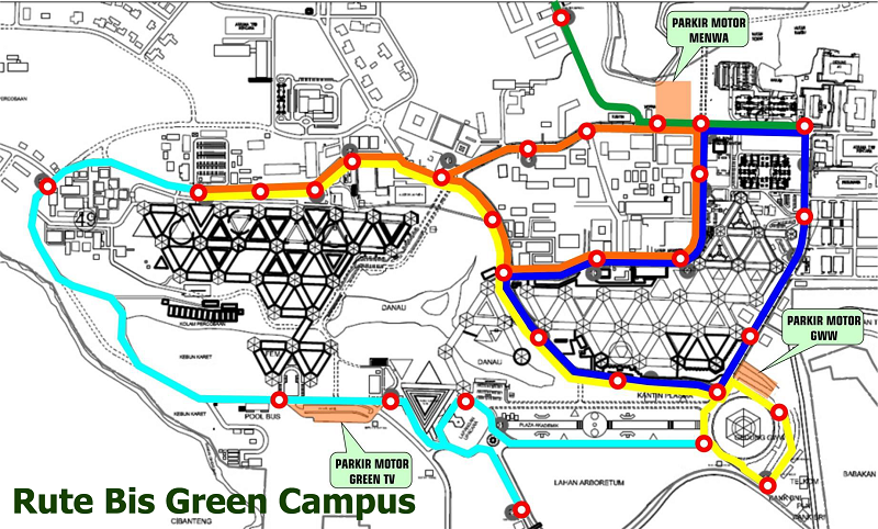 Rute Bis Green Campus